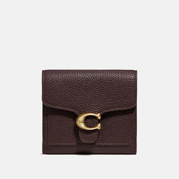 Carteira Tabby Small Wallet Coach Vinho