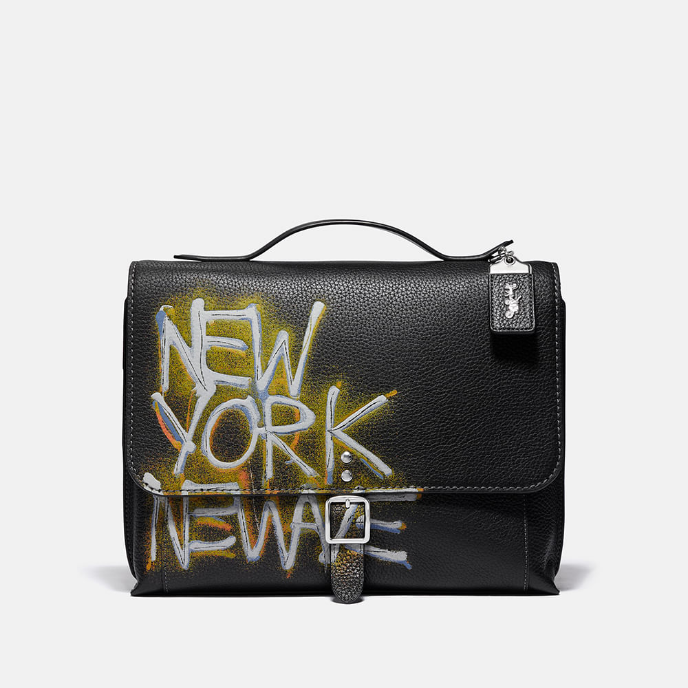 COACH X Jean-Michel Basquiat Alie Camera Bag With