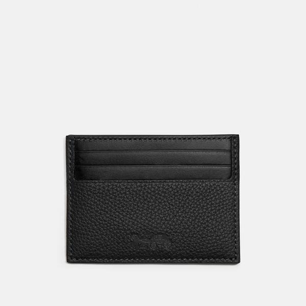 Porta-Cartão Card Case Coach Preto