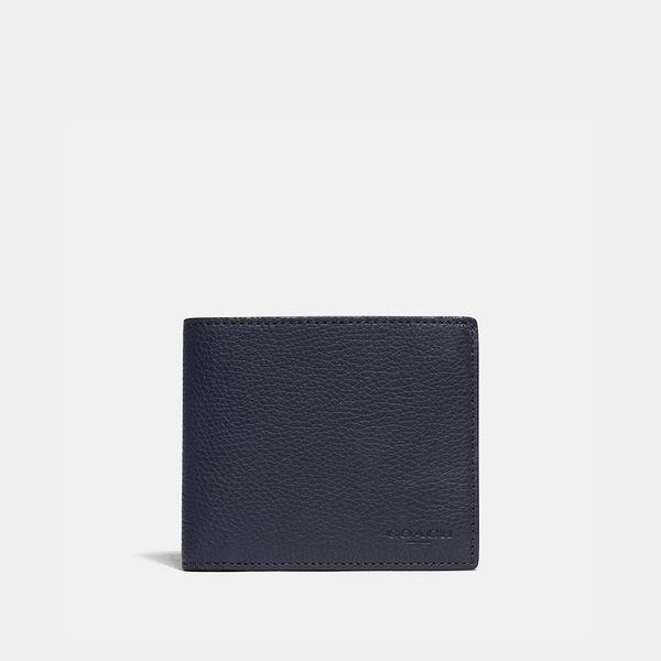 Carteira 3 in 1 Wallet Coach Azul