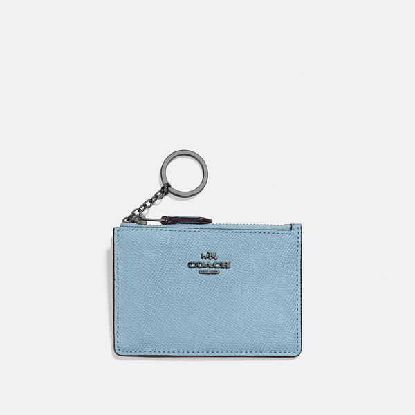 Porta-Cartões Mini Skinny Coach Azul