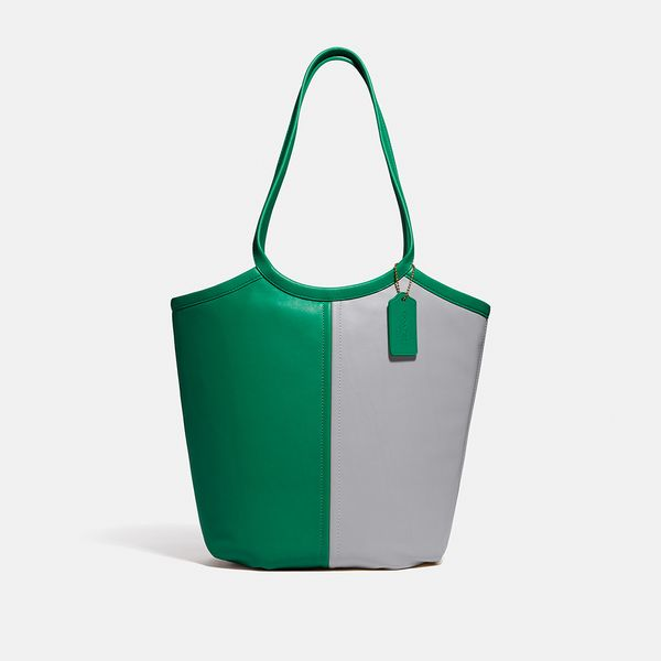 Bolsa Bea Tote Coach Verde