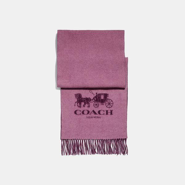 Cachecol Bicolor Coach - Rosa